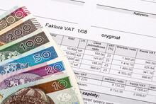 Polish VAT Invoice With Polish Zloty