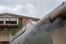 Close-up View Of An WW2 RAF Hu...