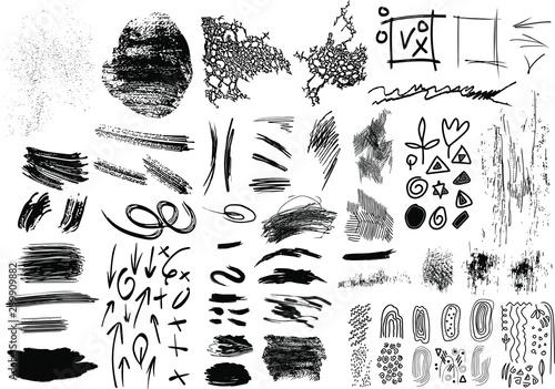 Fényképezés Set of Design Elements