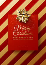 Christmas Club Poster Design. ...