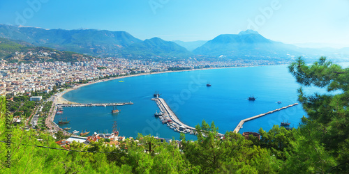 Alanya city, Turkey. Wallpaper Mural
