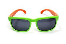 Kid's Sunglasses Isolated On W...