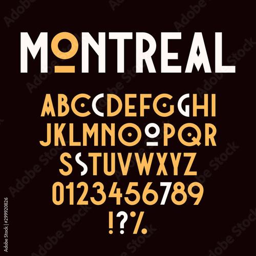 Fotografie, Obraz Vintage retro font