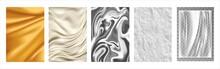 Gold Fabric, Silk Texture, Sil...