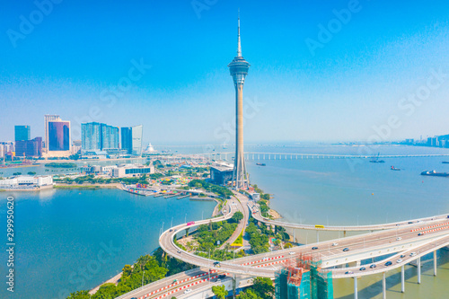 Photo Aerial scenery in the Macao Special Administrative Region of China