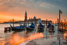Sunrise At The Grand Canal In ...