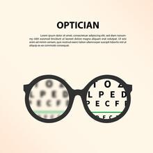 Optician Concept.