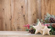 Christmas Greeting Card. Festi...