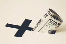 Concept Of Generous Church Donations And Charity Activity