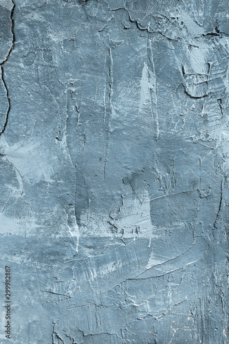 Fotografía The texture of gypsum or alibaster cracked plaster on the wall is a thick layer