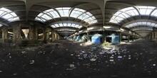 Abandoned Factory HDRI Panorama
