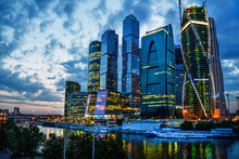 Majestic View On Moscow-city -...