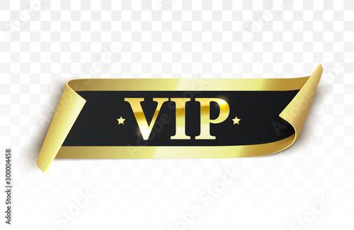 Fotografía Vip label, badge or tag