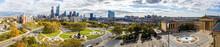 Drone View On The Philadelphia...