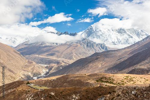 Fotografie, Obraz  Ama Dablam Mountain. Trekking Everest Base Camp. Nepal.
