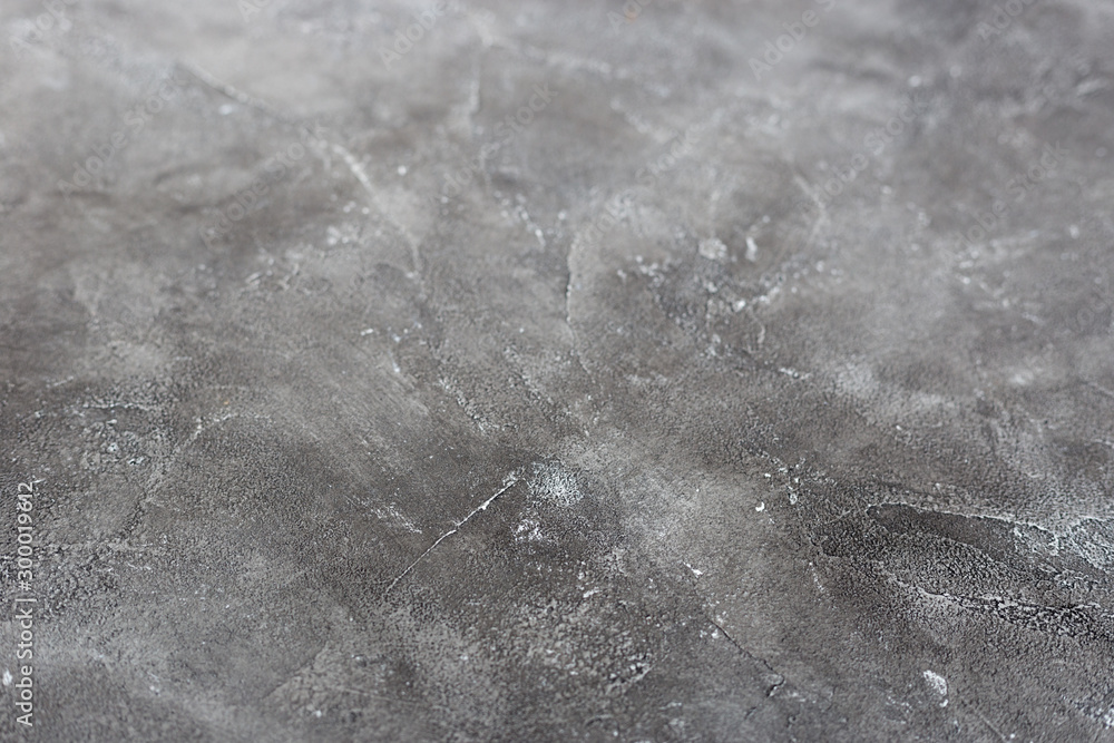 Fototapety, obrazy: Texture of a grey stone background. Dark Cement and concrete texture, selective focus.