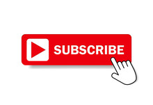 Red Button Subscribe Of Channe...