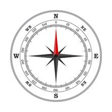 Compass Icon - Vector.