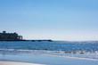 (神奈川県ー風景)材木座海岸から見渡す海景1