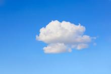 One Cloud In A Blue Sky