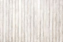 White Wooden Panel With Beautiful Patterns. Wood Plank Texture Background, Hardwood Floor.