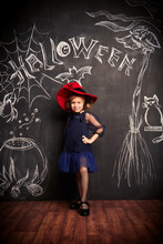 Costume For Girl On Halloween