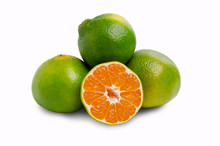 Green Raw Tangerine