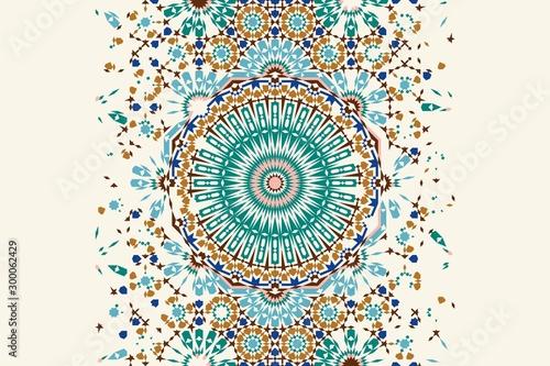 Morocco disintegration template Canvas-taulu