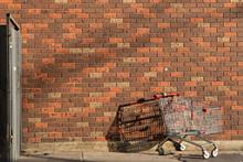 Abandoned Shopping Cart Left B...