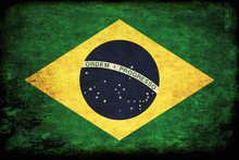 Brazilian Flag In Traditional ...