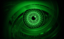 Green Eye Cyber Circuit Future...