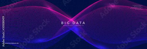 Big data learning Canvas Print