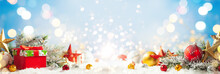Christmas Winter Background Wi...
