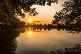 Fototapeta Krajobraz - Sonnenuntergang am See