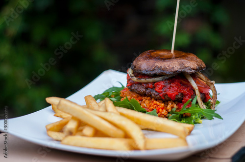 Obraz Burger Portobello - fototapety do salonu