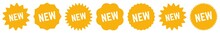 New Tag Orange | Special Offer Icon | Sticker | Deal Label | Variations