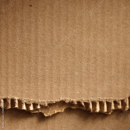 Corrugated cardboard Fotobehang