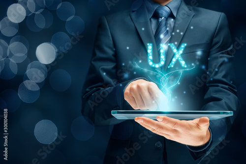 Fotomural  User experience on digital tablet app - UX concept