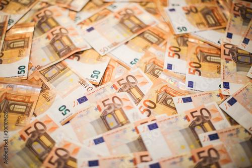 Euro Money. Wallpaper Mural