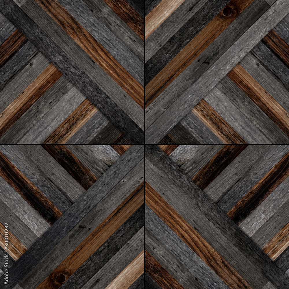 Fototapety, obrazy: Dark wood texture for background. Wooden wall with abstract pattern.
