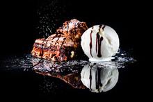 Hot Chocolate Brownie Dessert ...