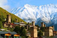 Stunning View Of Medieval Svan...