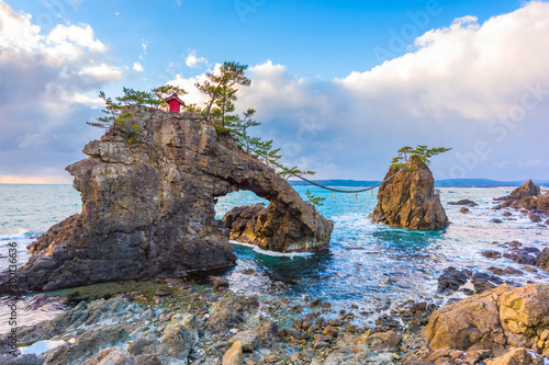 Obraz na plátně Noto Peninsula, Ishikawa, Japan at the Hatago Iwa Rock