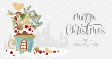 The Greeting Merry Christmas W...