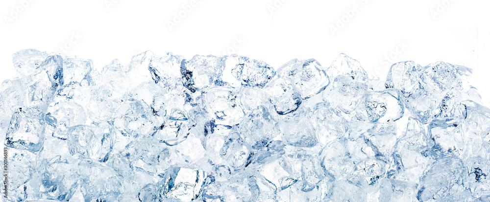 Fototapety, obrazy: Ice cubes background.