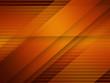 canvas print picture - Abstract Elegant Geometric Orange Background