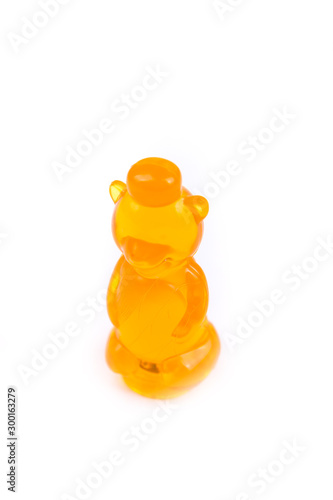 Childs toy plastic food molded 1/6th scale honey bear
