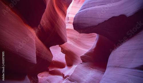 Foto auf Gartenposter Kastanienbraun Antelope canyon