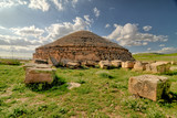Fototapeta Kamienie -  Medracen  - a royal mausoleum-temple of the Berber Numidian Kings near Batna city  - Algeria