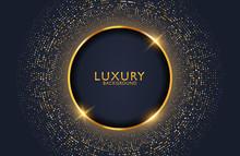 Luxury Elegant Background With...